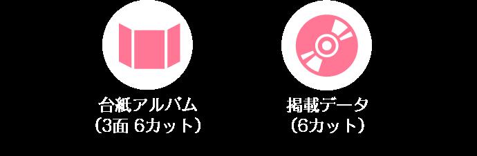 町家&スタジオ台紙アルバム